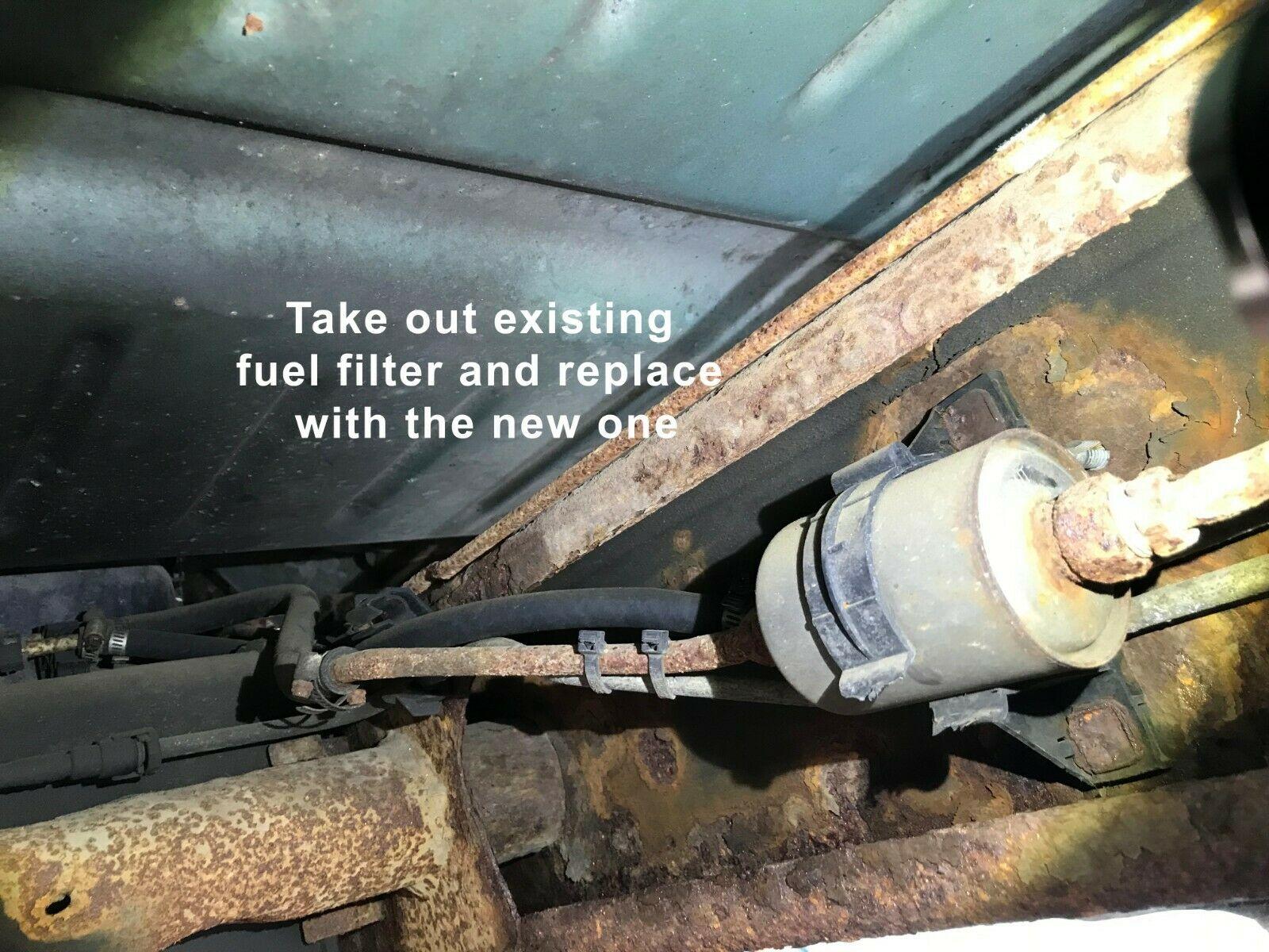 Línea de combustible principal de nylon & Filtro De Tanque Para ...