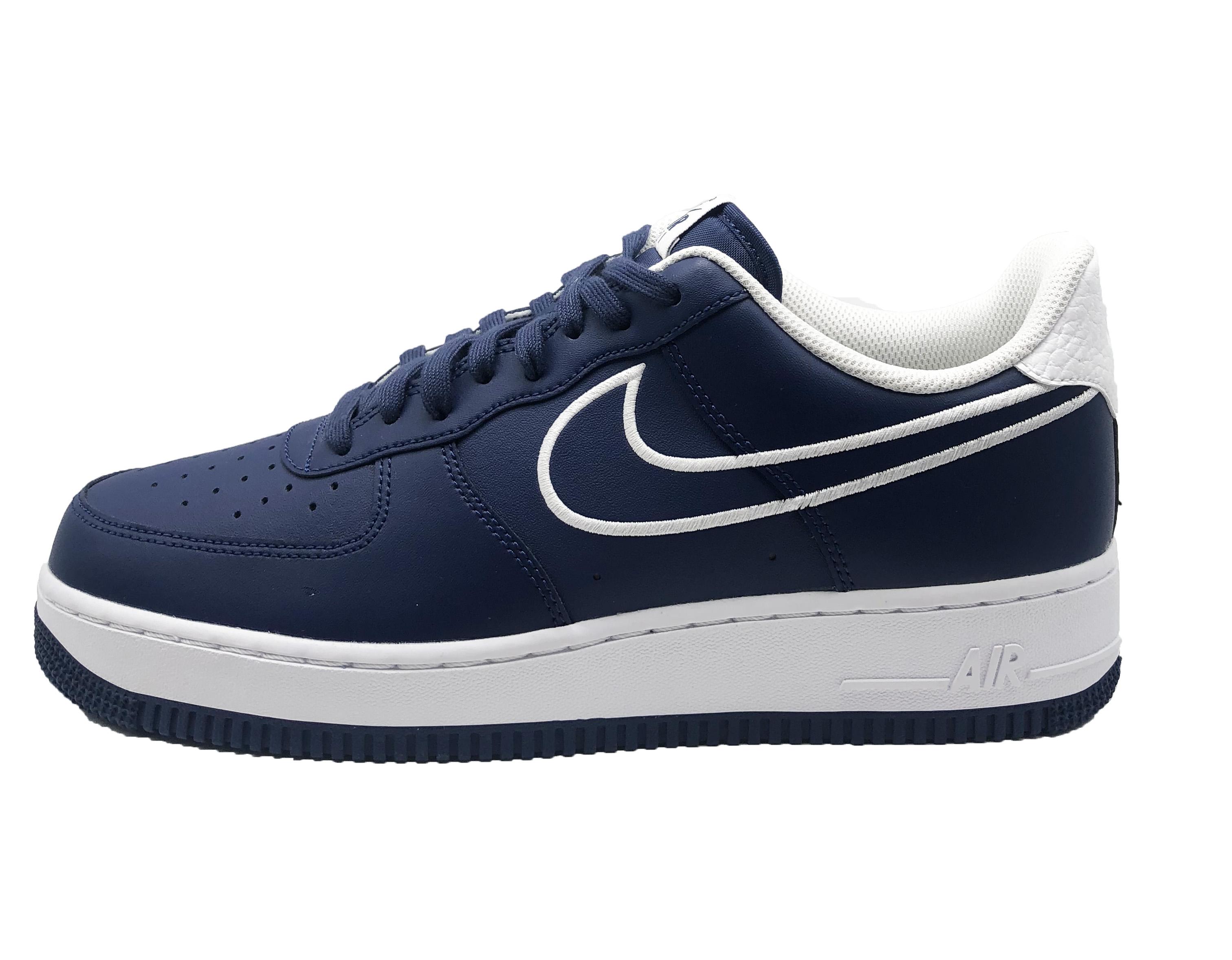 Nike Air Force 1  07 LTHR AJ7280 400 Mens Trainers  629c376fde3a7