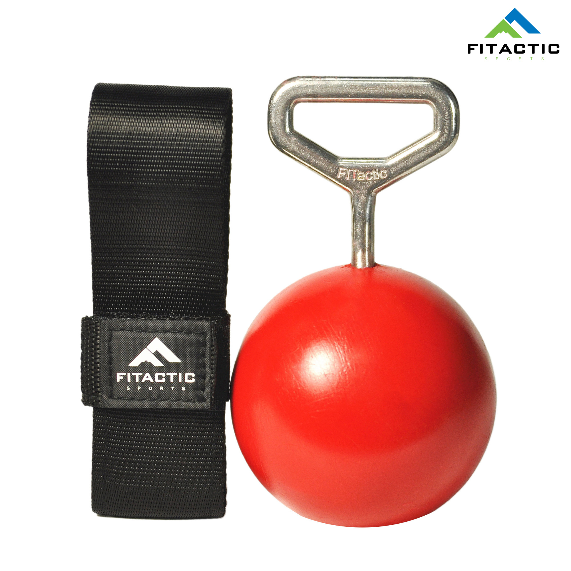 FITactic 3.5/'/' Solid Pull Up Power Ball Training fit Forearm Biceps Back Muscles
