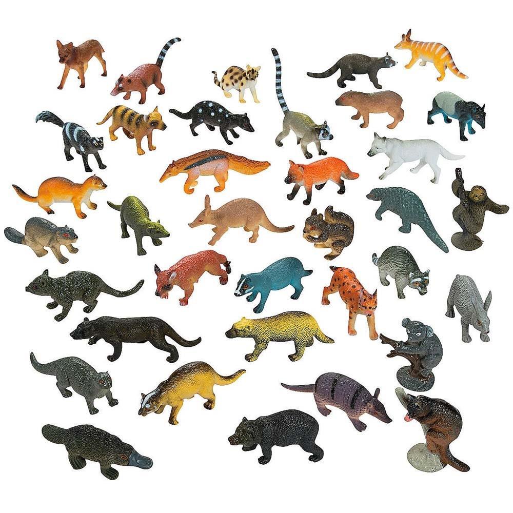 Set of 12 Forest Animals Action Figurines 670579356206 | eBay