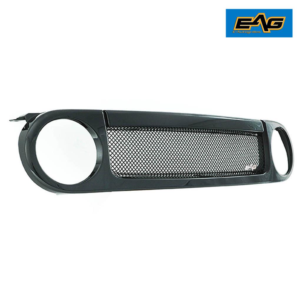 EAG Grille Matte Black Stainless Steel W//ABS Shell for 07-14 Toyota FJ Cruiser