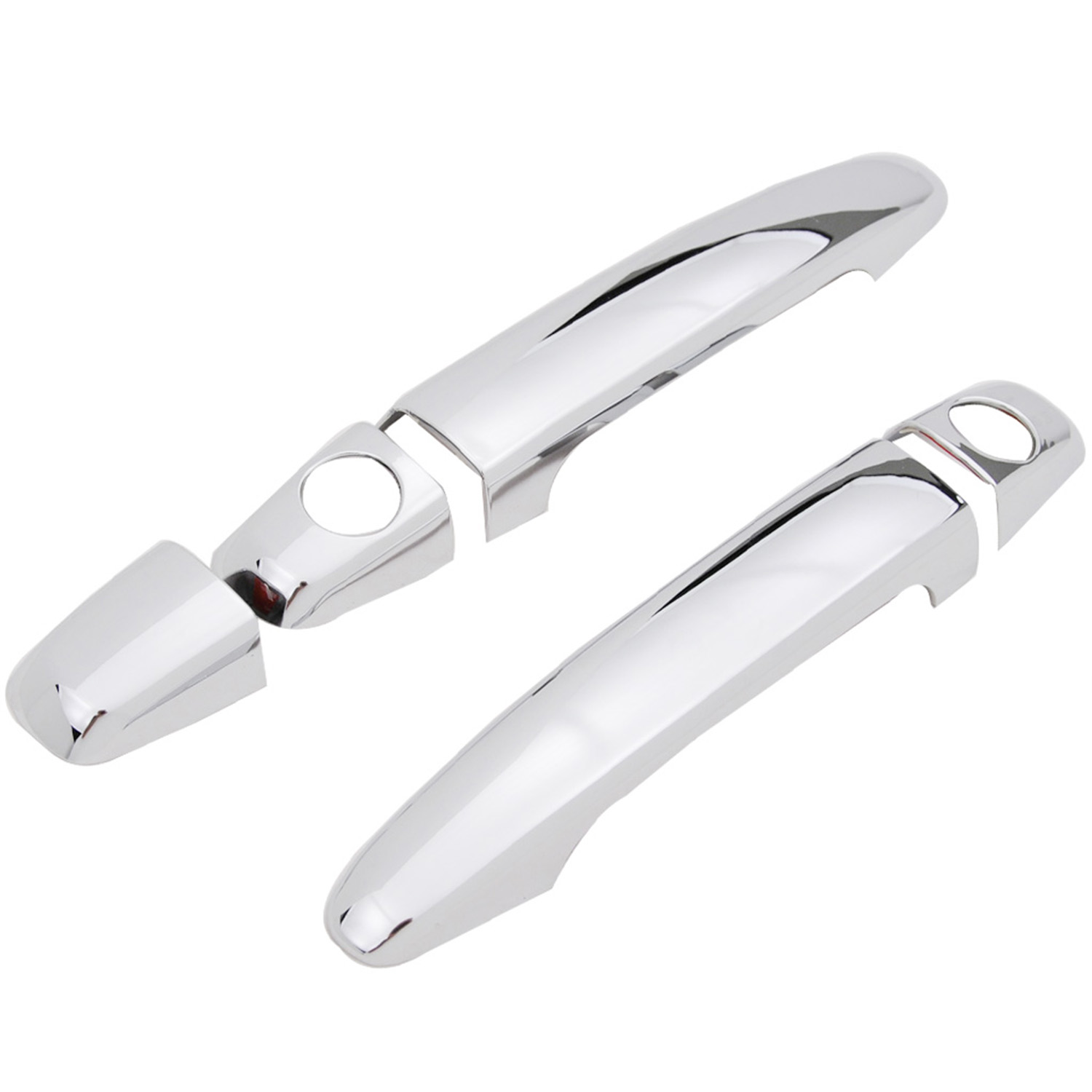 FOR TOYOTA TACOMA 05-15 CHROME 4 DOORS HANDLES COVERS W//OUT SMART KEYHOLE