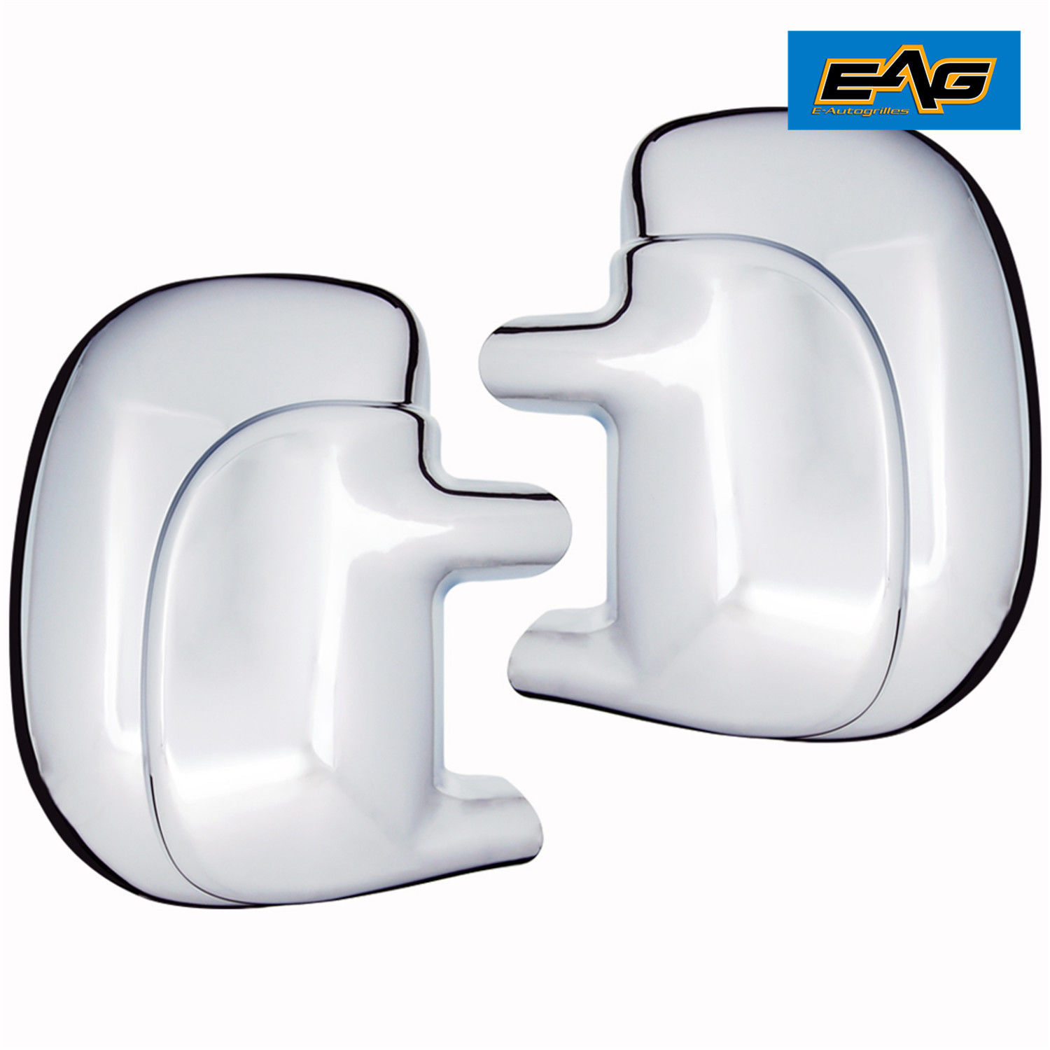 FOR FORD F-250//350//450 SUPER DUTY 99~07 EXCURSION  00-05 CHROME MIRROR COVER