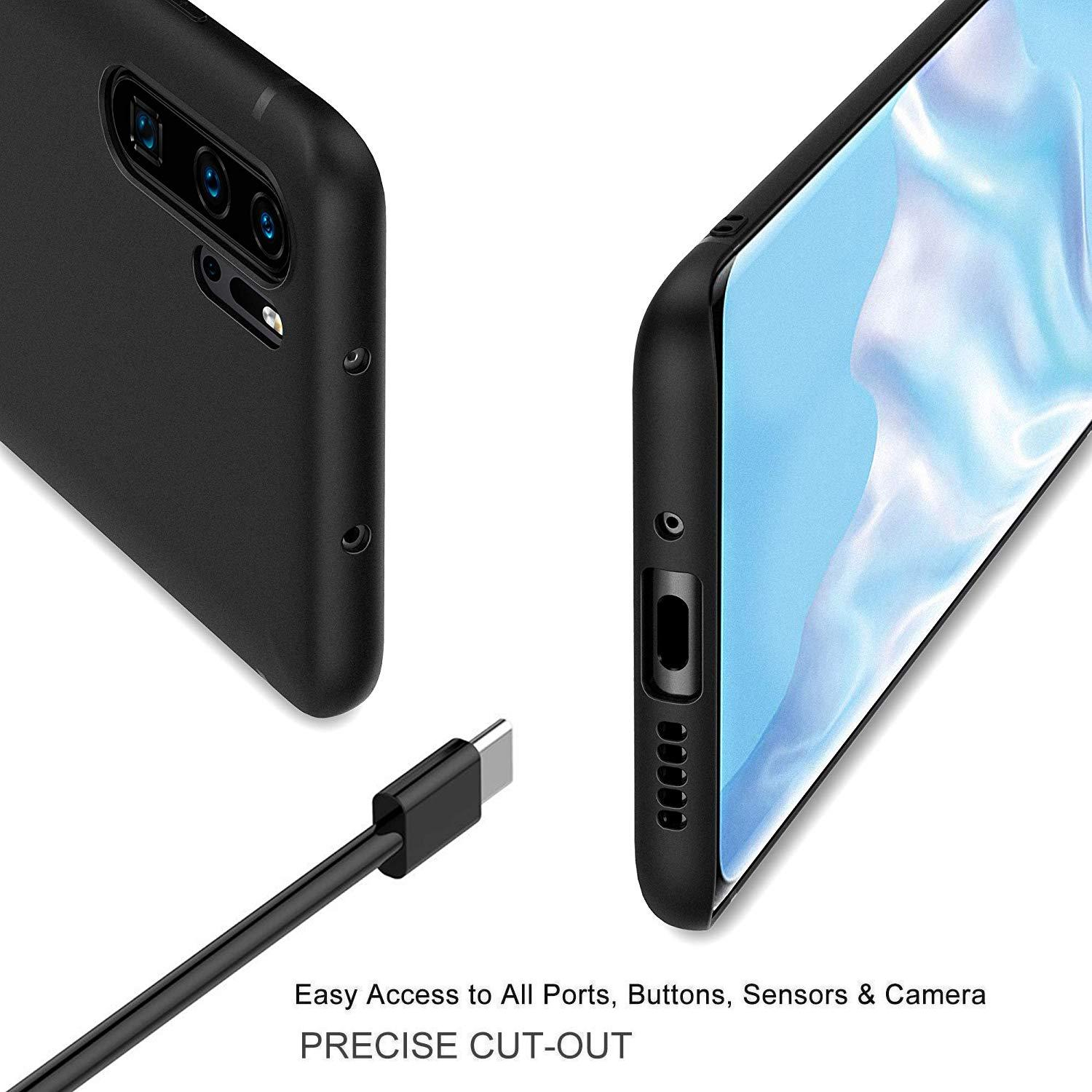 Case-for-Huawei-P30-Pro-Full-Body-Ultra-Thin-Slim-TPU-Protective-Phone-Cover thumbnail 10