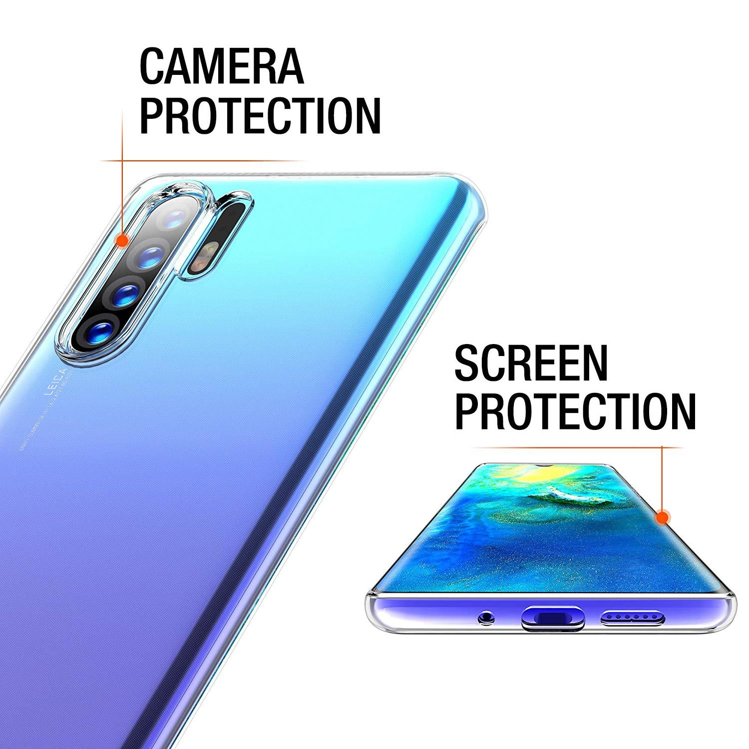 Case-for-Huawei-P30-Pro-Full-Body-Ultra-Thin-Slim-TPU-Protective-Phone-Cover thumbnail 20