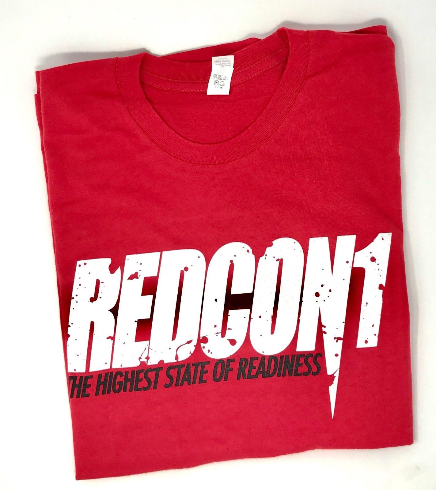 Details about Redcon1 T-Shirt Total War / Big Noise: Red - Pick Size