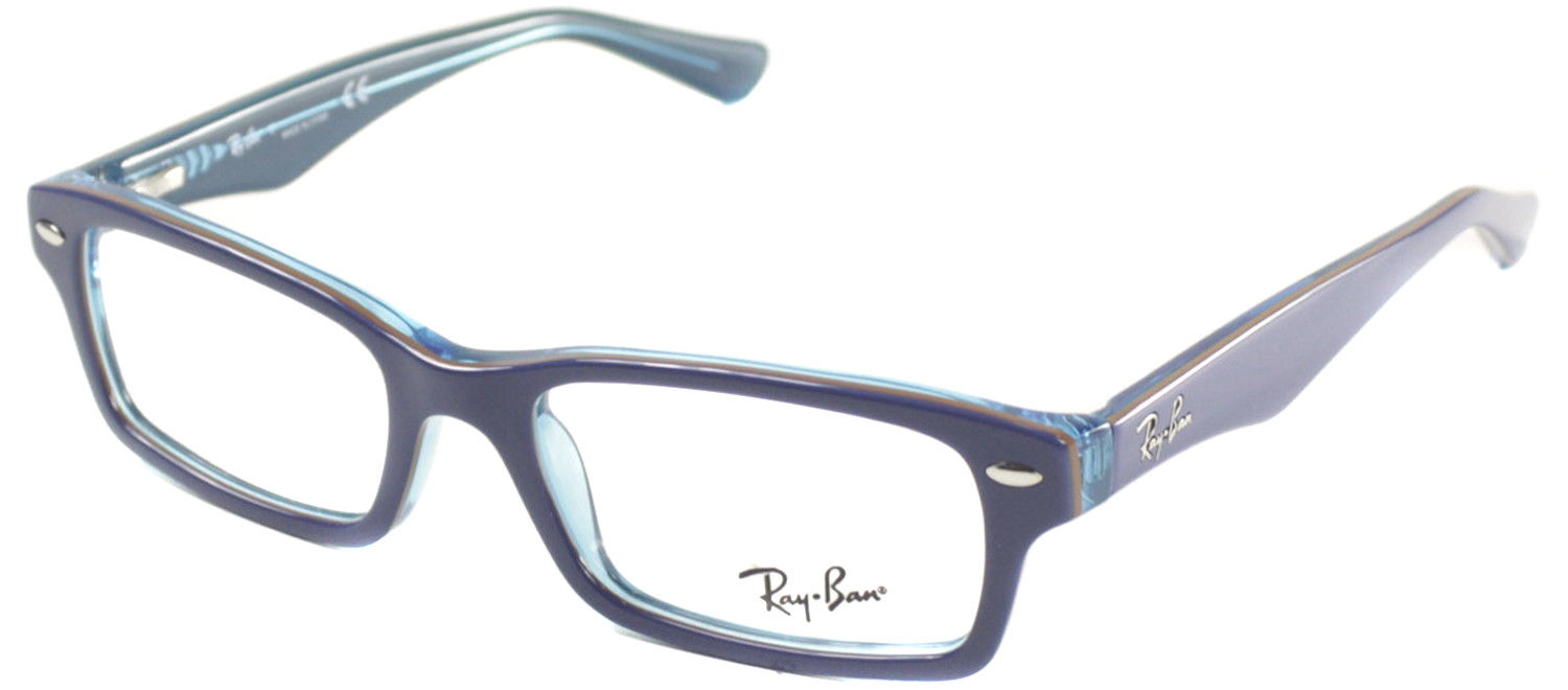 f37e8b7c61a0 Authentic Ray Ban Junior RY 1530 3587 Top Blue Azure Childrens Eyeglasses  46mm 1 of 3FREE Shipping ...
