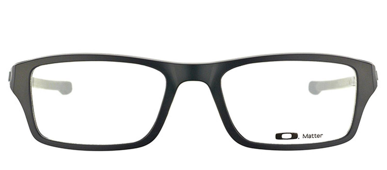 3da762809f Oakley Chamfer OX8039-0153 Satin Black Rectangle Eyeglasses 53mm 2 2 of 3  ...