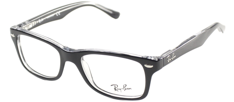 1bb30184e10 Ray Ban Junior RY 1531 3529 Top Black on Transparent Children s Eyeglasses  48mm