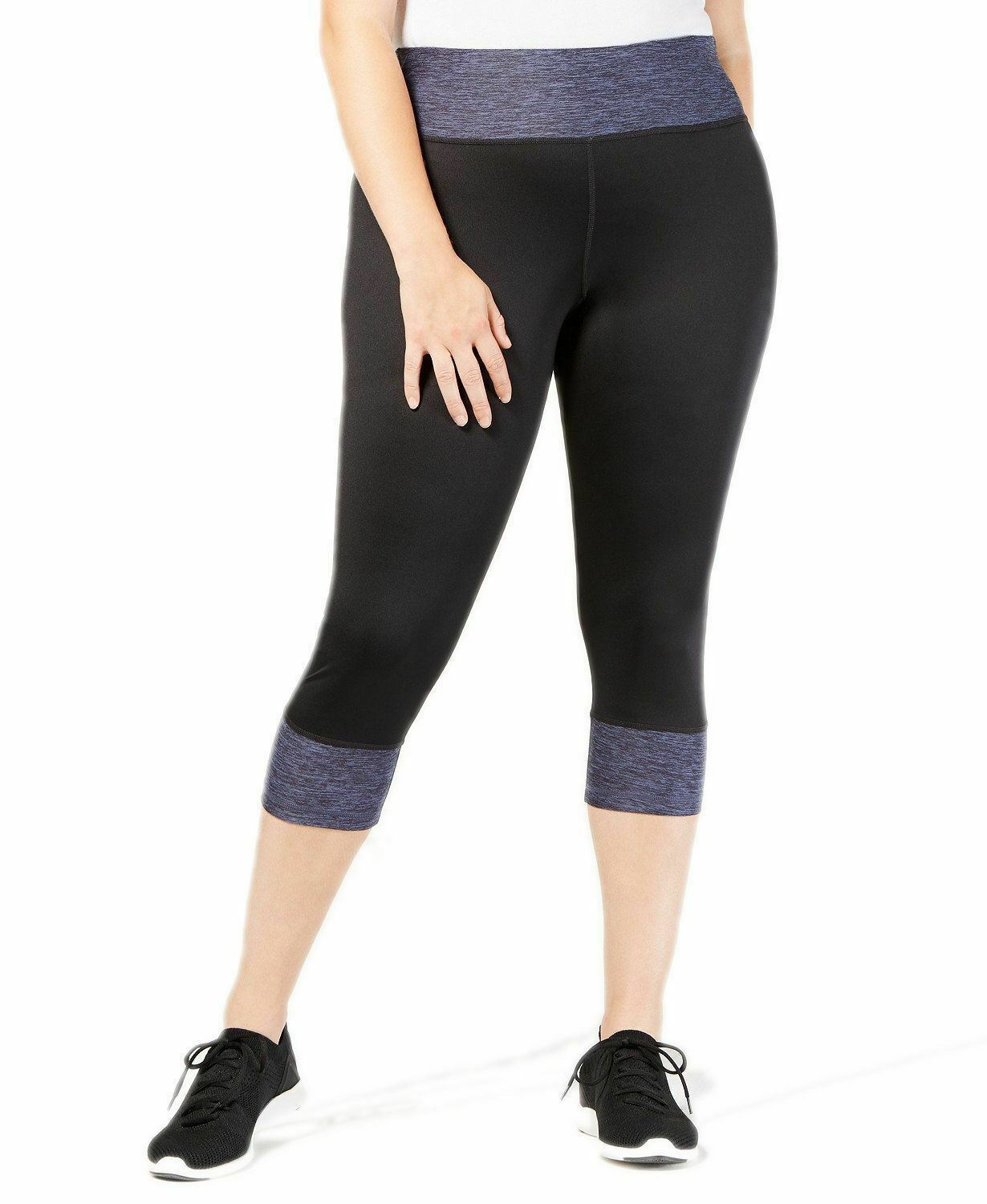 7ed0e16facf Ideology Women s Plus Size Colorblocked Cropped Leggings