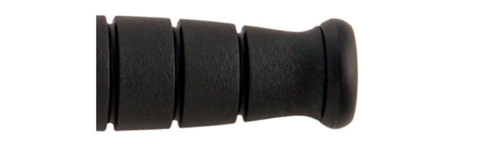 Ka-bar borde serrado corto, negro + Funda de cuero, cuero, cuero, hecho en EE. UU. 81e4cf