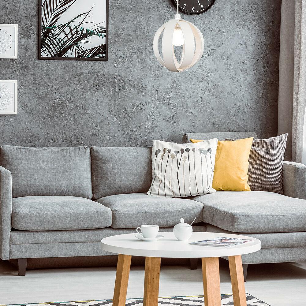 Minisun-Globe-DEL-plafond-lumiere-pendentif-nuances-Abat-jour-eclairage-Ampoule-DEL miniature 27