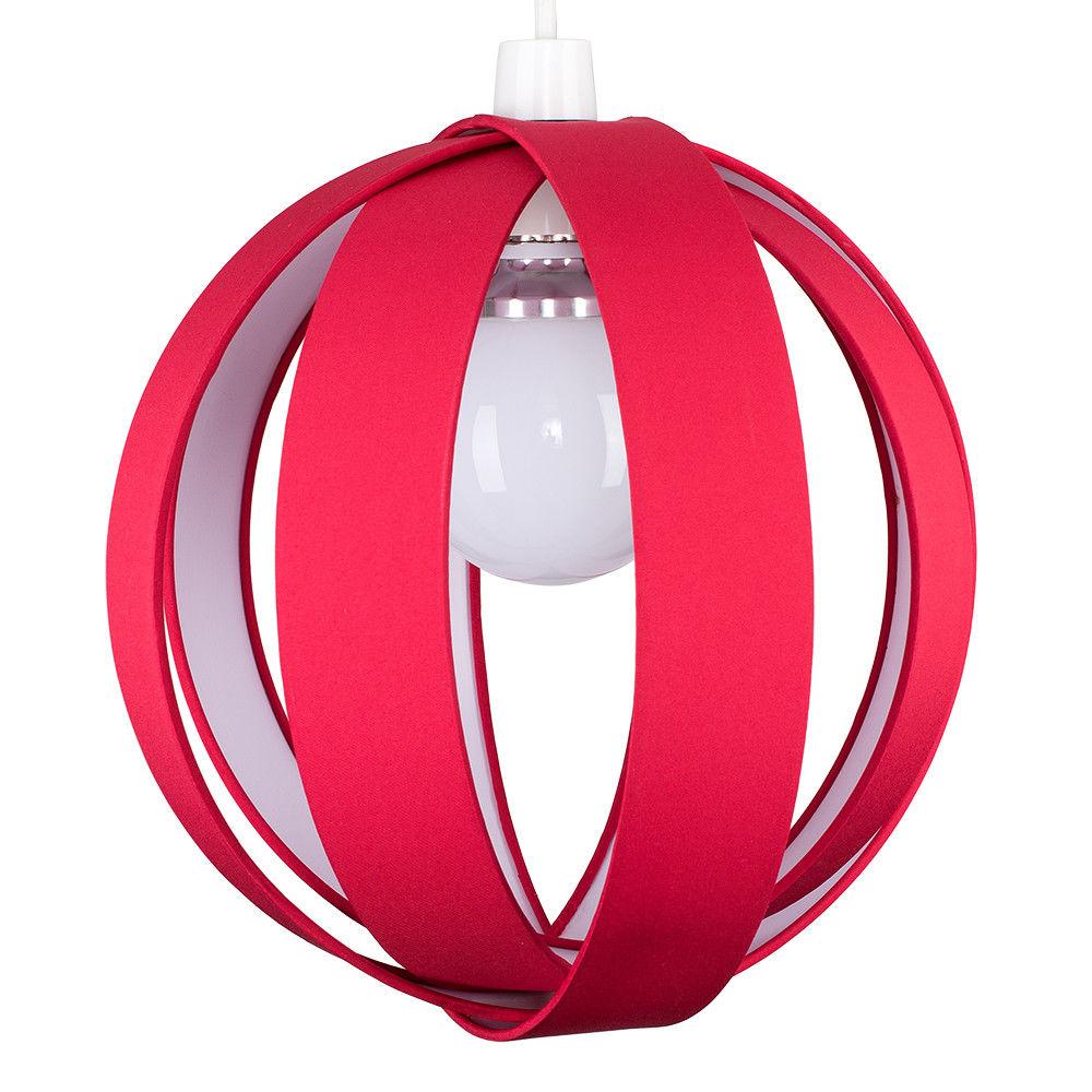 Minisun-Globe-DEL-plafond-lumiere-pendentif-nuances-Abat-jour-eclairage-Ampoule-DEL miniature 47