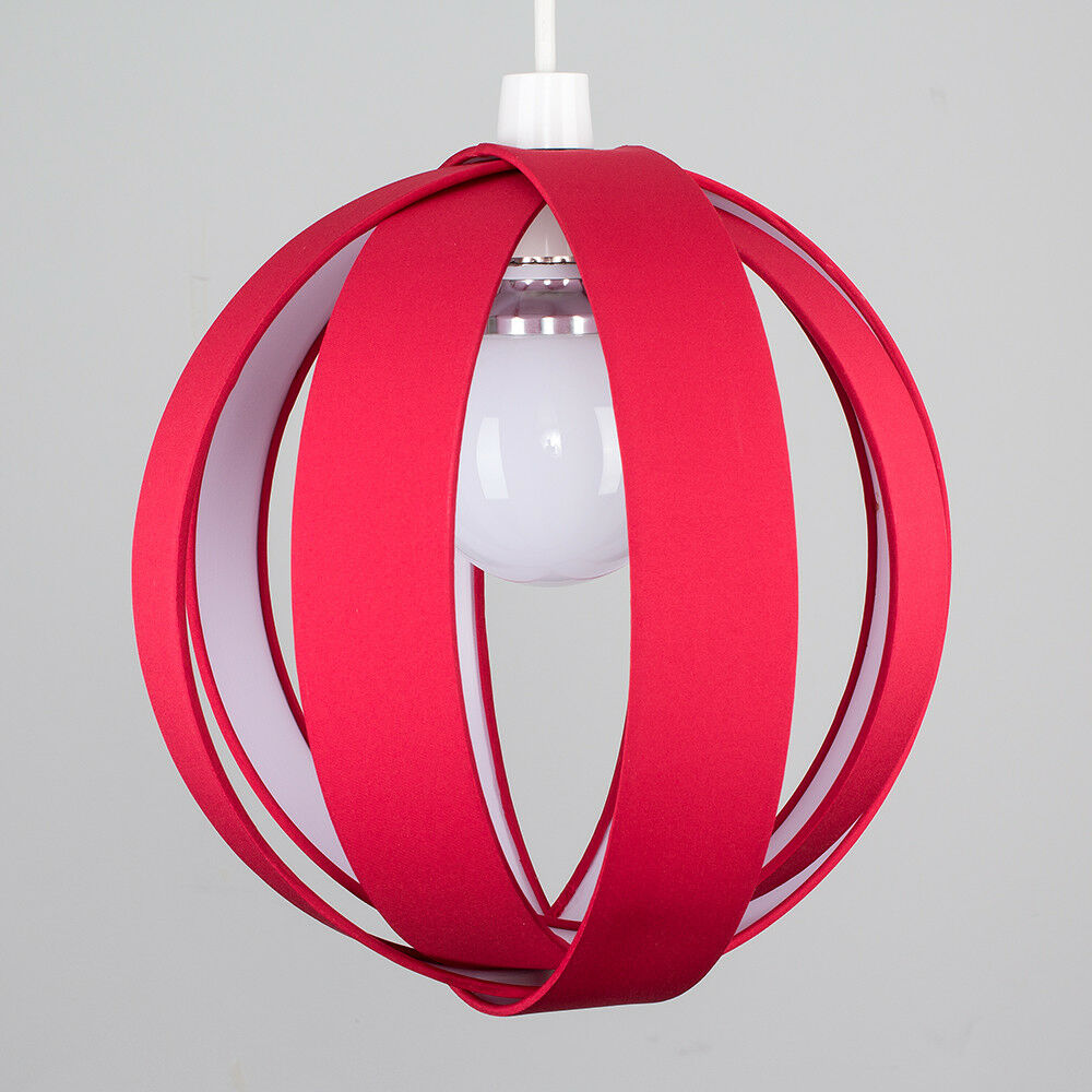 Minisun-Globe-DEL-plafond-lumiere-pendentif-nuances-Abat-jour-eclairage-Ampoule-DEL miniature 46