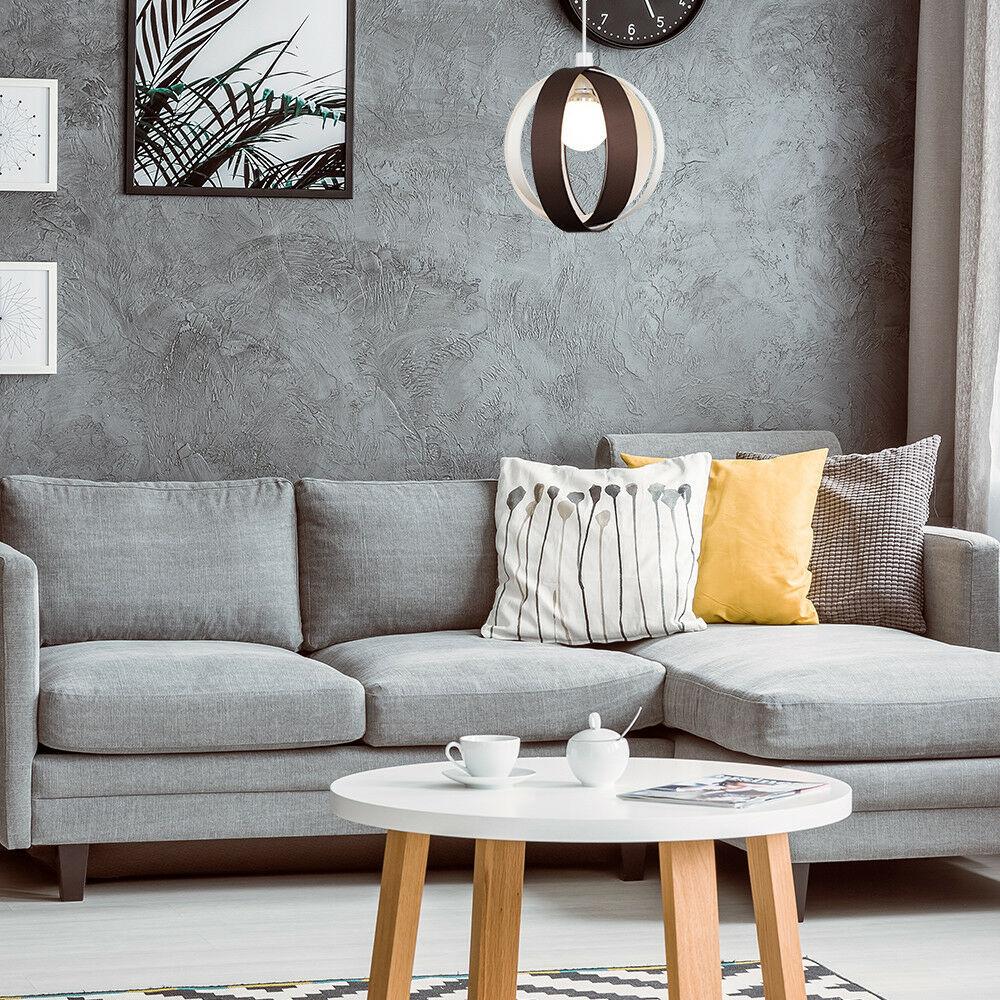 Minisun-Globe-DEL-plafond-lumiere-pendentif-nuances-Abat-jour-eclairage-Ampoule-DEL miniature 20