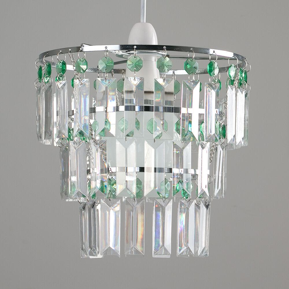 Modern-3-Tier-Ceiling-Pendant-Acrylic-Crystal-Light-Lamp-Shade-Chandelier-Shade thumbnail 16