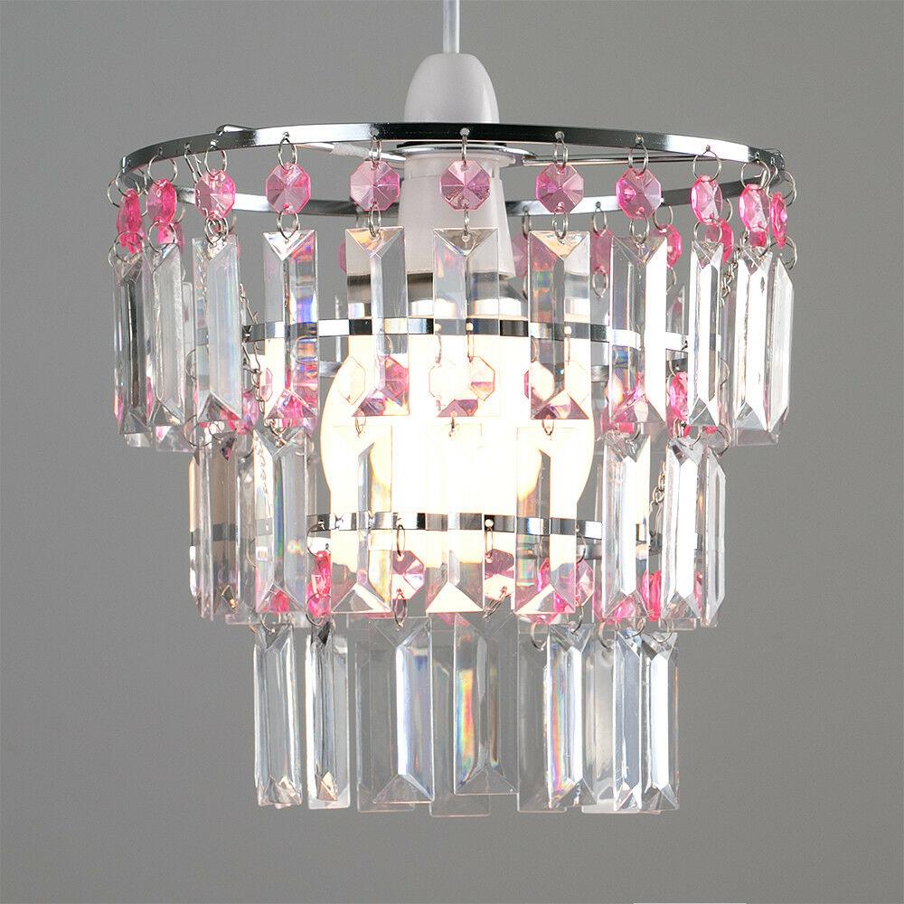 Modern-3-Tier-Ceiling-Pendant-Acrylic-Crystal-Light-Lamp-Shade-Chandelier-Shade thumbnail 26
