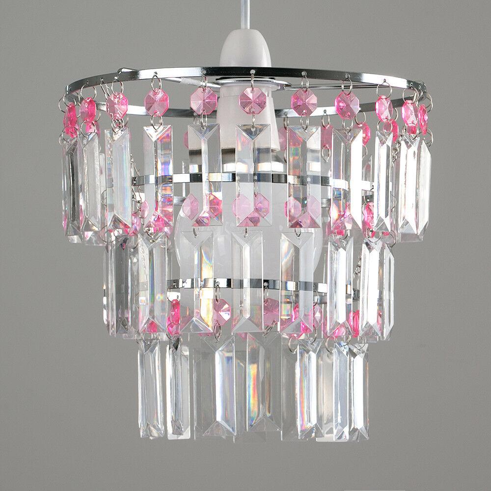 Modern-3-Tier-Ceiling-Pendant-Acrylic-Crystal-Light-Lamp-Shade-Chandelier-Shade thumbnail 25