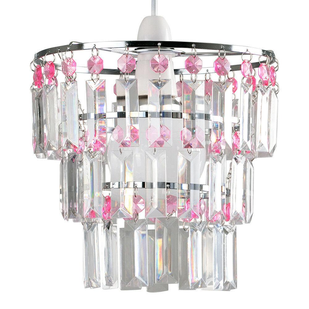 Modern-3-Tier-Ceiling-Pendant-Acrylic-Crystal-Light-Lamp-Shade-Chandelier-Shade thumbnail 24