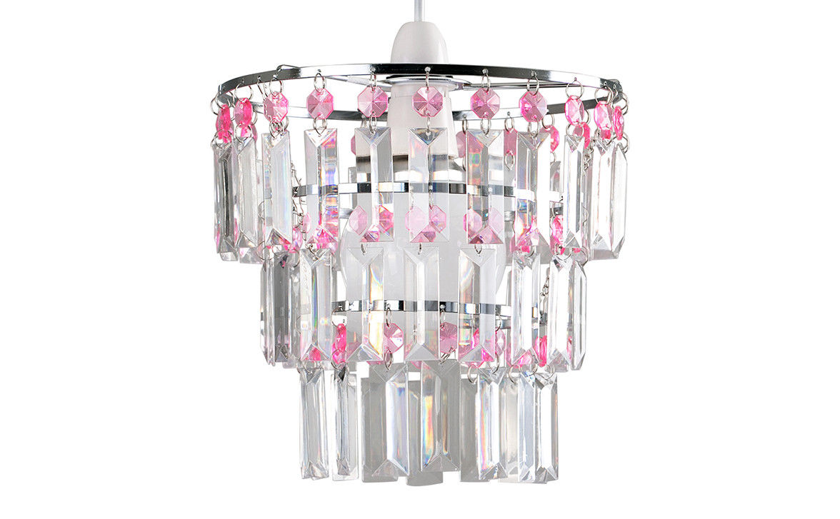 Modern-3-Tier-Ceiling-Pendant-Acrylic-Crystal-Light-Lamp-Shade-Chandelier-Shade thumbnail 23