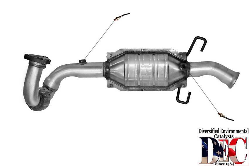 EPA Catalytic Converter Fits 1996 1997 1998 Saab 900 2.3L L4 GAS DOHC
