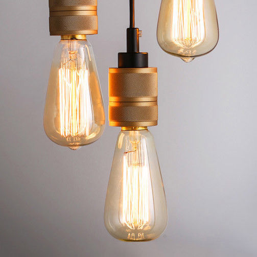 Kitchen Lighting Edison: Vintage Edison Bulb Kitchen Light Hooked Mini Hanging