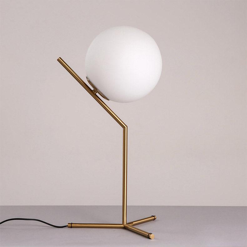 thumbnail 12 - Modern White Glass Globe LED Desk Lamp Plugin Floor Bedside Table Lights Fixture