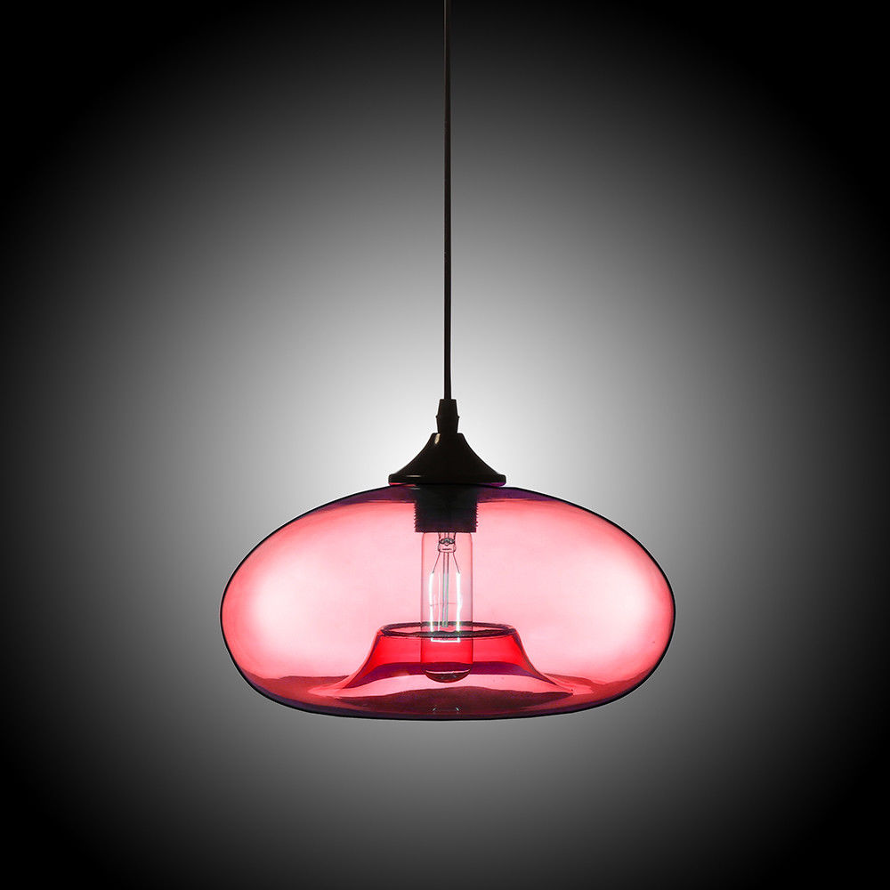 Modern-1-Light-Colourful-Glass-Concave-Oval-Shape-Shade-Ceiling-Pendant-Light