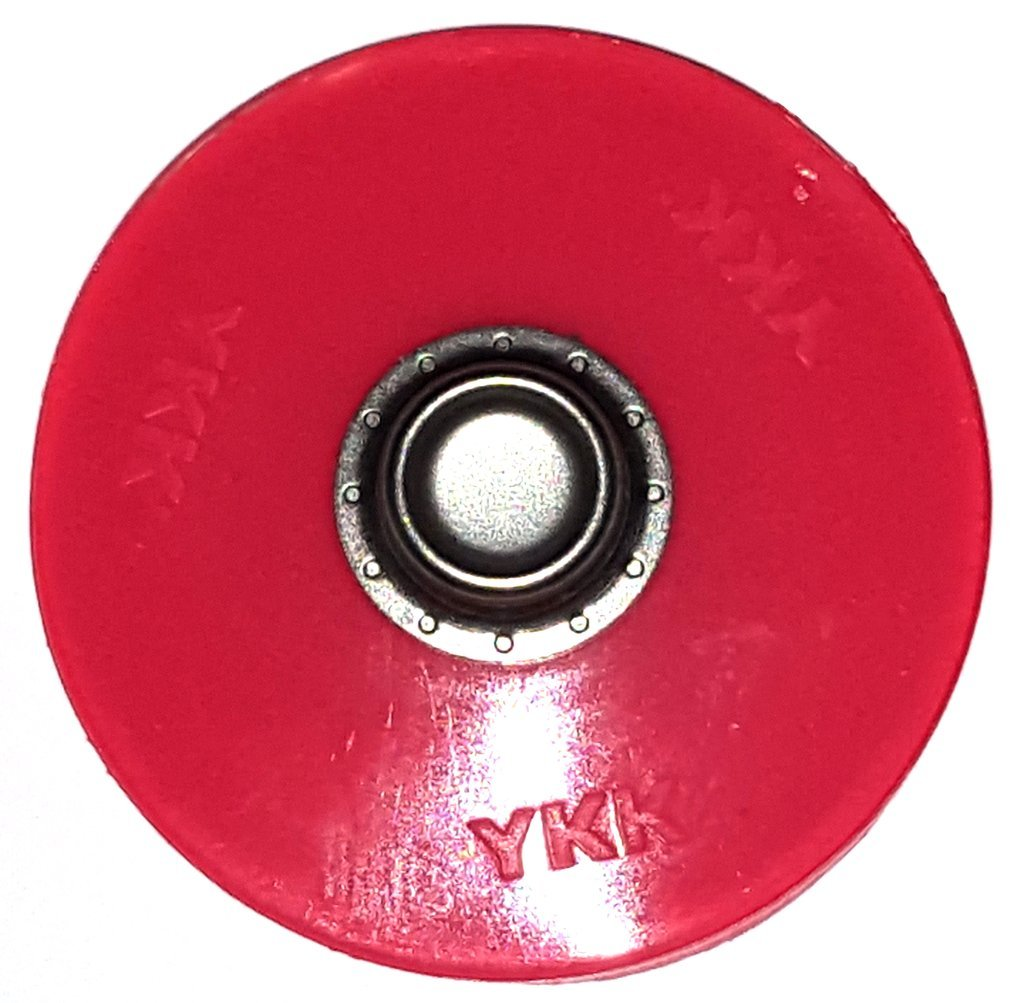 25 Pack YKK® SNAD® Domed White Stud 40 mm