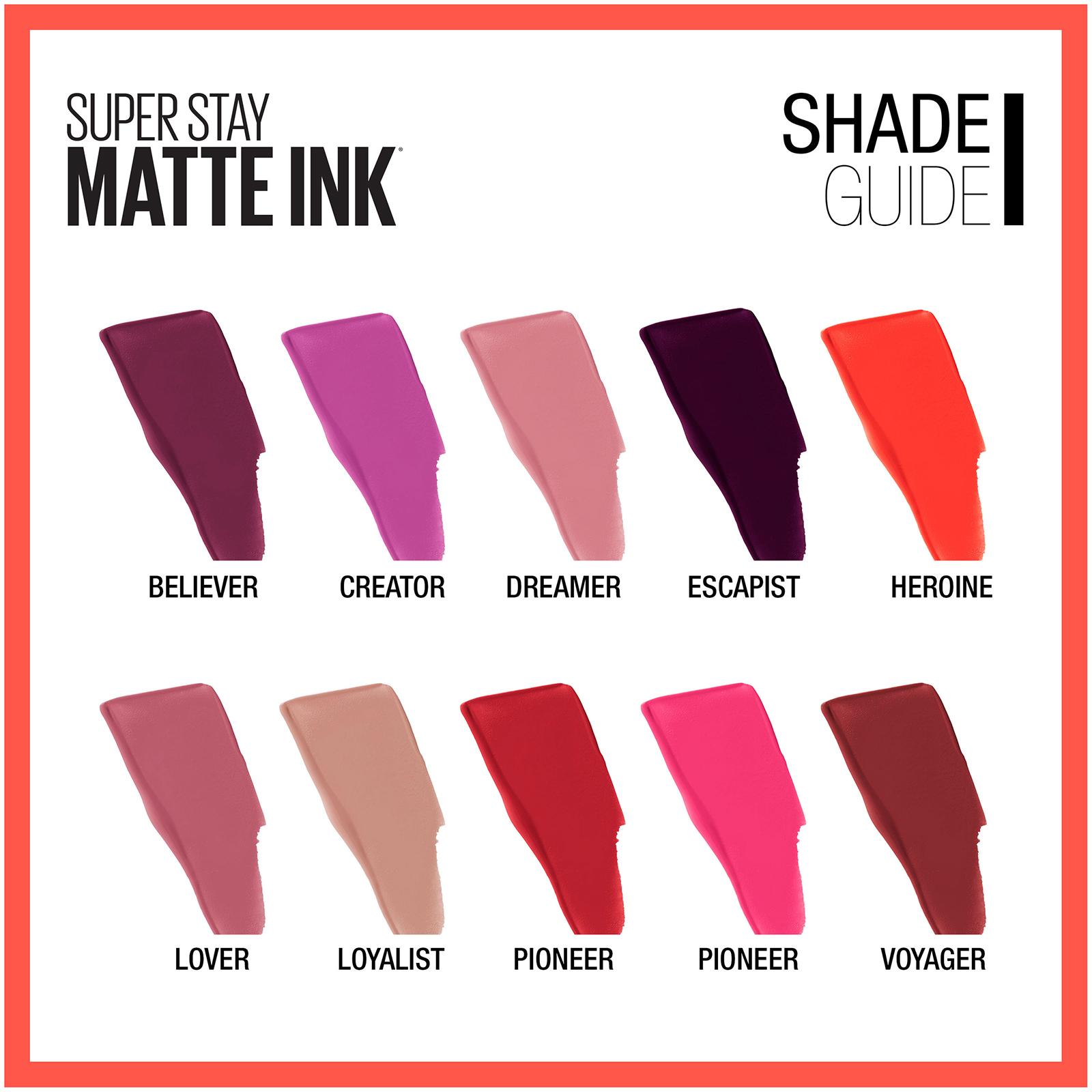 Details About Maybelline Superstay Matte Ink Liquid Lipstick 017 Fl Oz