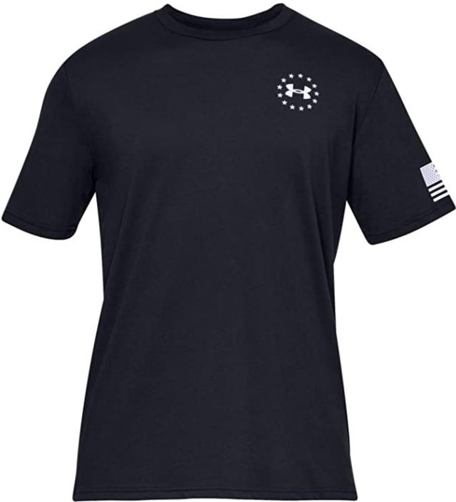 thumbnail 7 - Under Armour Men's UA Freedom Flag Athletic Graphic T-Shirt - 1333350