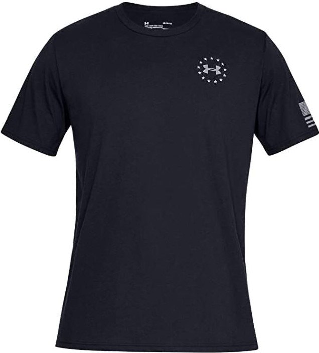 thumbnail 3 - Under Armour Men's UA Freedom Flag Athletic Graphic T-Shirt - 1333350
