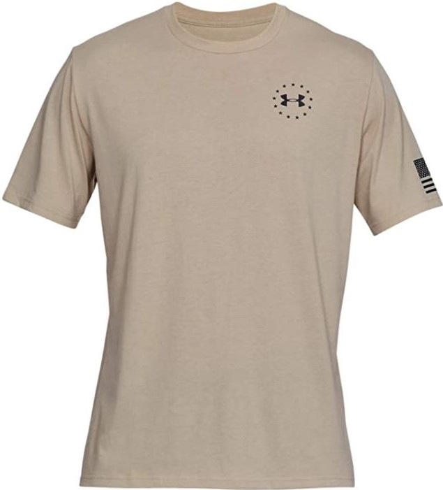 thumbnail 9 - Under Armour Men's UA Freedom Flag Athletic Graphic T-Shirt - 1333350