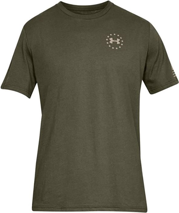 thumbnail 11 - Under Armour Men's UA Freedom Flag Athletic Graphic T-Shirt - 1333350