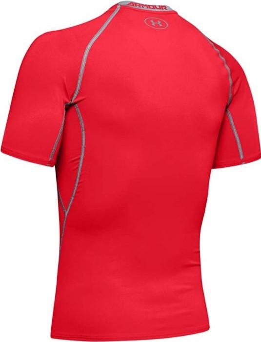 thumbnail 7 - Under Armour Men's UA HeatGear Armour Short Sleeve Compression Shirt - 1257468
