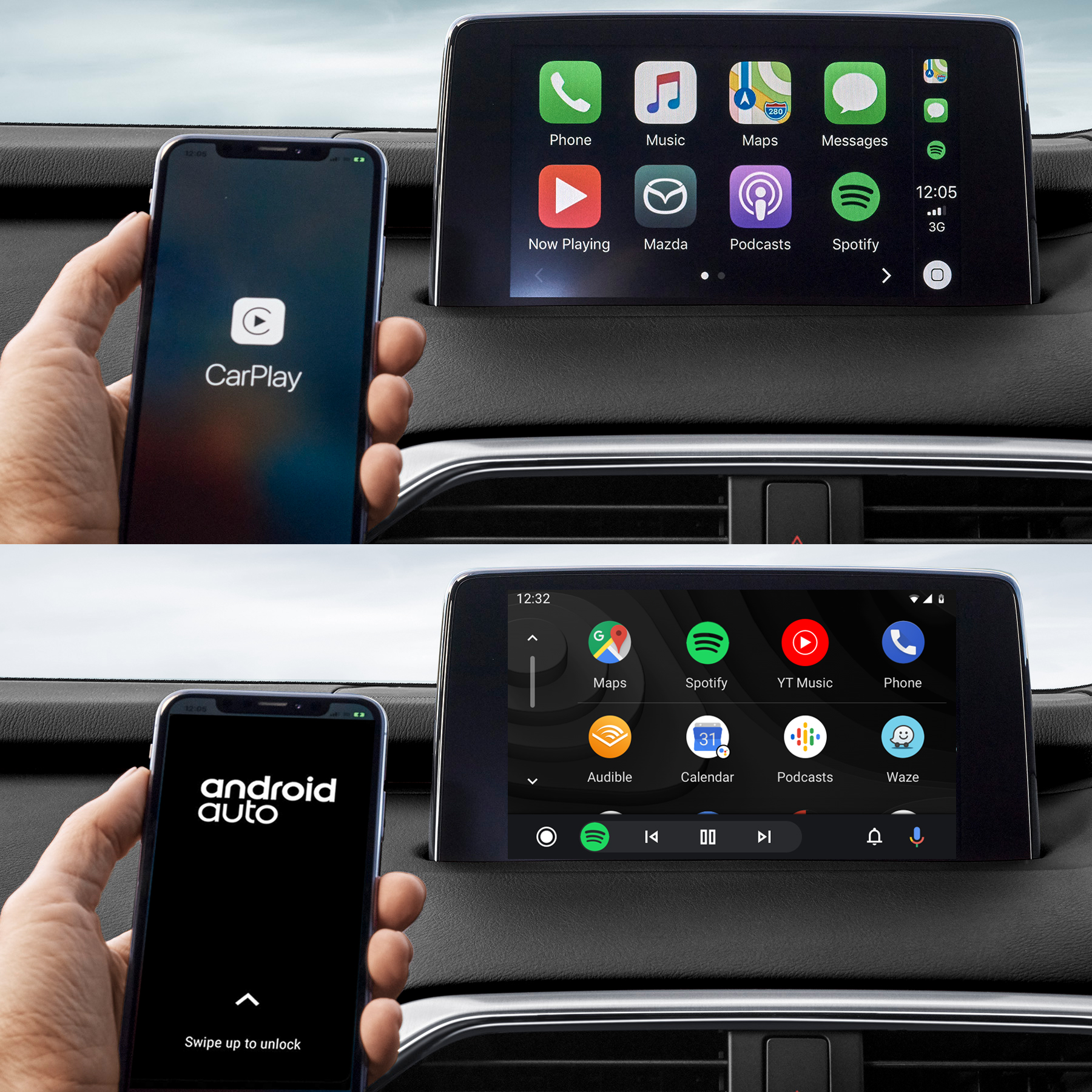 Details about New Genuine Mazda 2 3 6 CX3 CX5 CX8 CX9 Apple Carplay Android  Auto Retrofit Kit