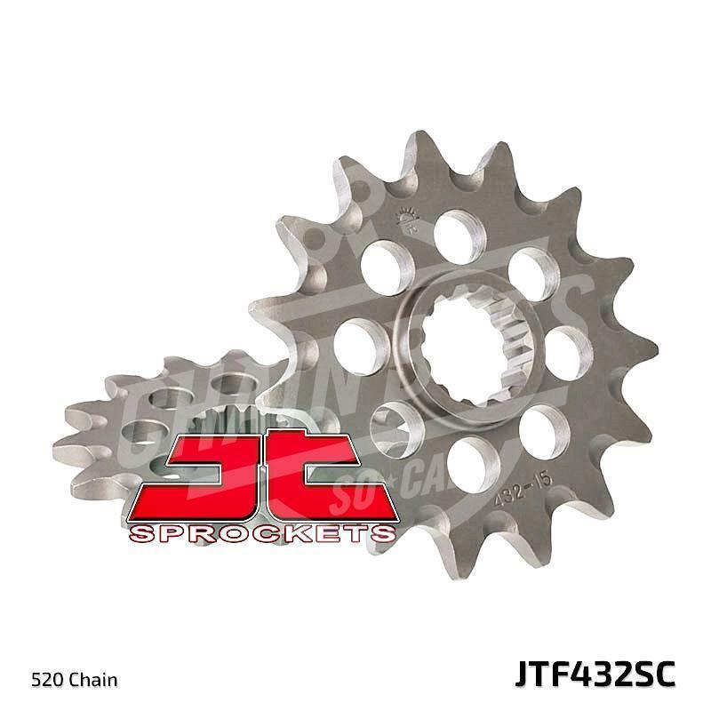 SUZUKI 2005-2018 DRZ400 SM  VORTEX RACING 520 FRONT SPROCKET  12 13 14