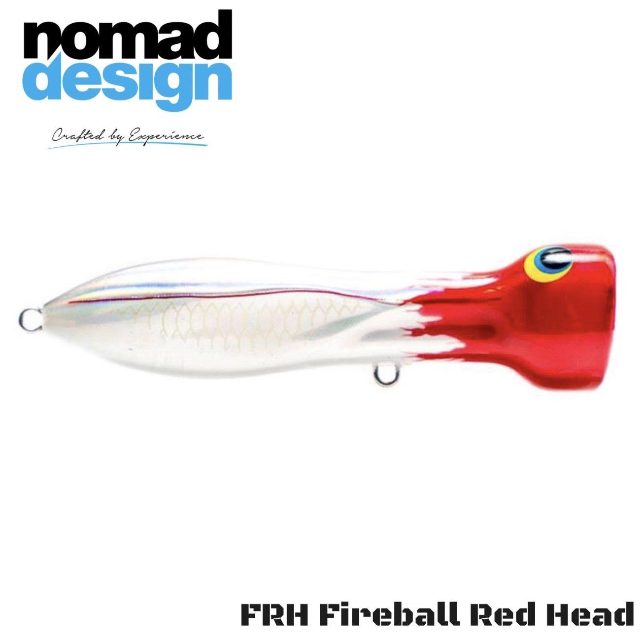 CHUG NORRIS Silver Green Mackerel Floating POPPER Lure 95mm//20g Nomad Design NEW