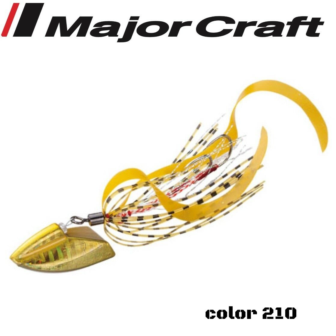 Major Craft Rubber Jigging Lure Jigraba Through 30G