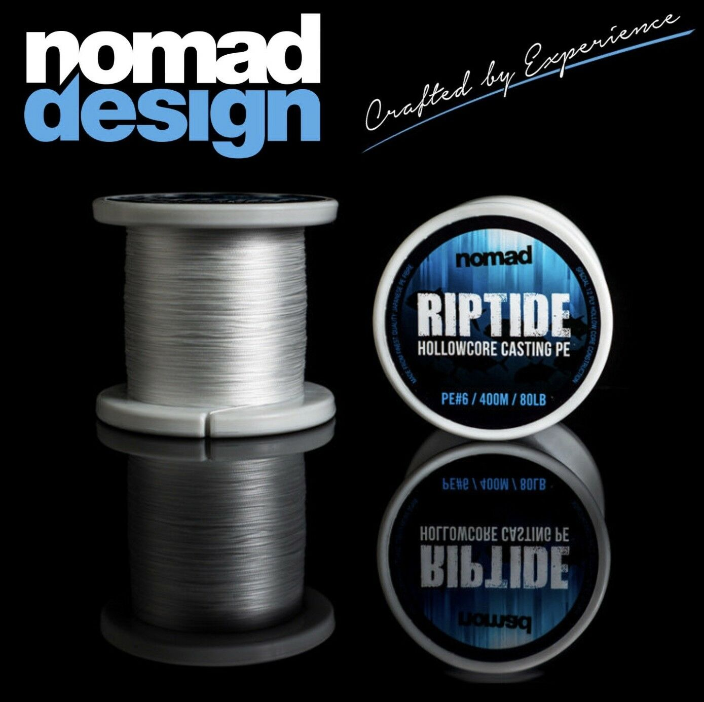 NOMAD DESIGN TOP SHOT HOLLOW CORE BRAID RIPTIDE 400m
