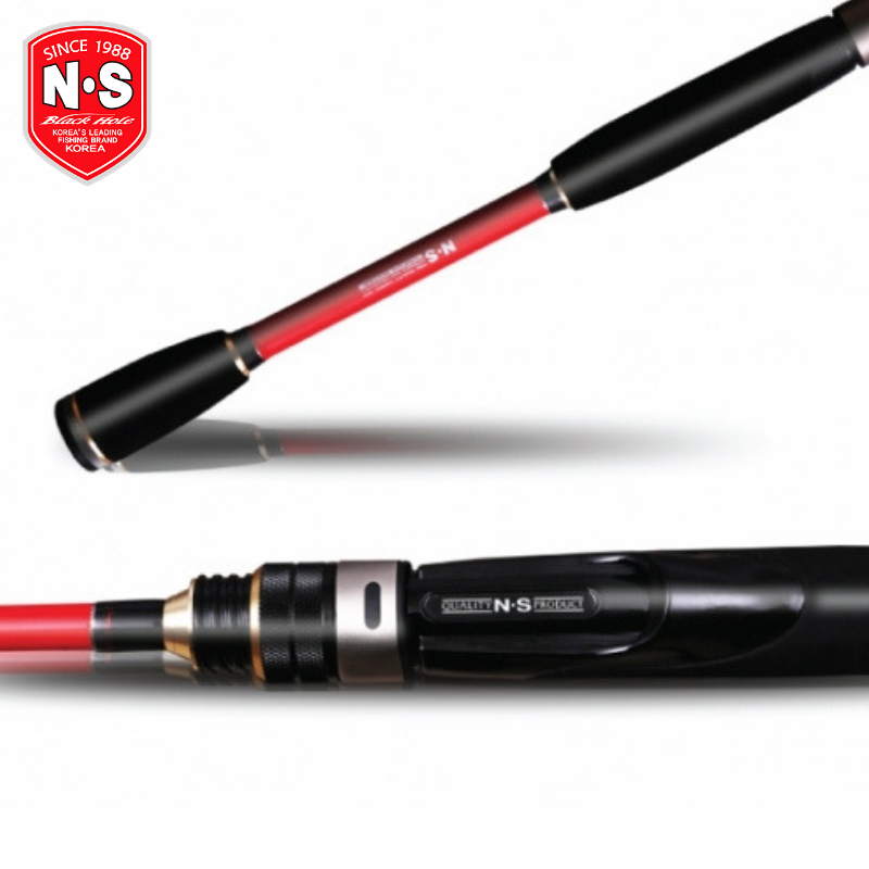 NS BLACK HOLE SALTWATER SPINNING ROD RED /& BLUE