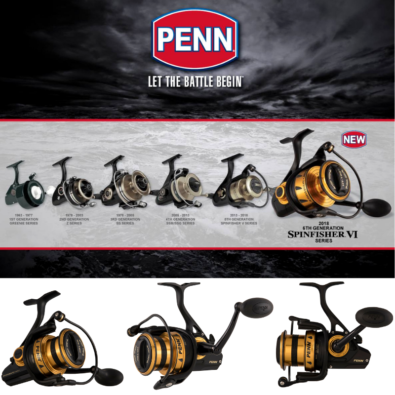 PENN-LEGENDARY-SALTWATER-SPINNING-REEL-SPINFISHER-VI-LONG-CAST thumbnail 7