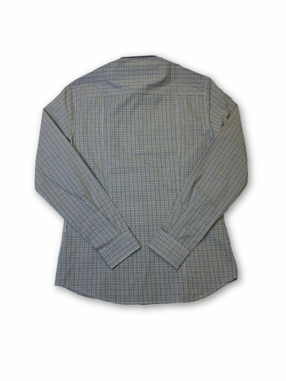 Versace-Jeans-039-Norwich-039-slim-fit-shirt-in-grey-check thumbnail 6