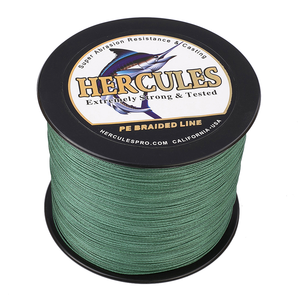 Braided-Fishing-Line-150lbs-8-Strands-PE-Hercules-100-300-500-1000-1500-2000M thumbnail 50