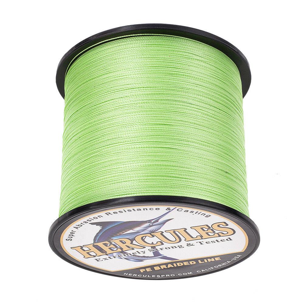 Hercules-1000M-1094-Yards-Weave-6lb-100lb-Test-4-Strands-PE-Braided-Fishing-Line thumbnail 34