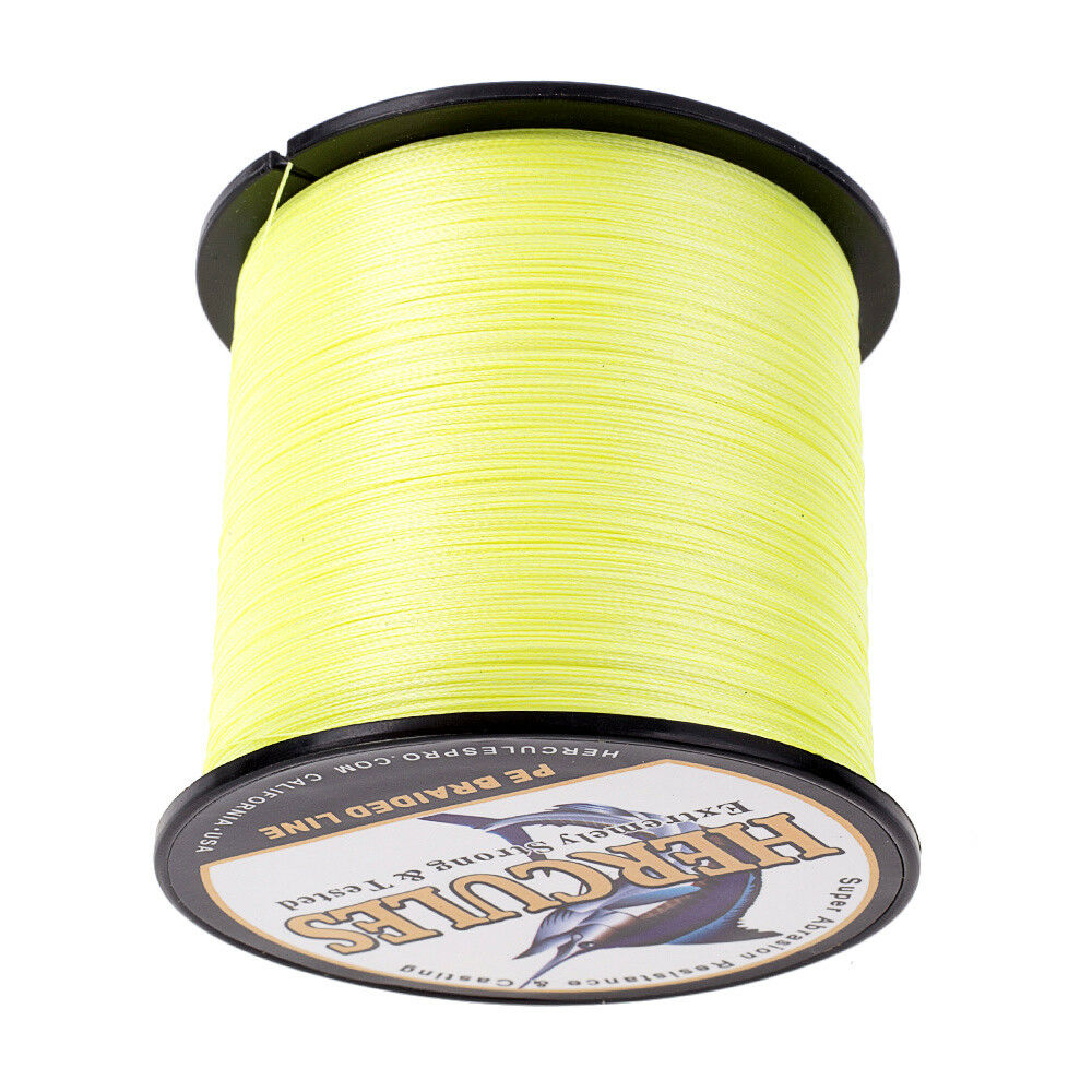 Hercules-1000M-1094-Yards-Weave-6lb-100lb-Test-4-Strands-PE-Braided-Fishing-Line thumbnail 40