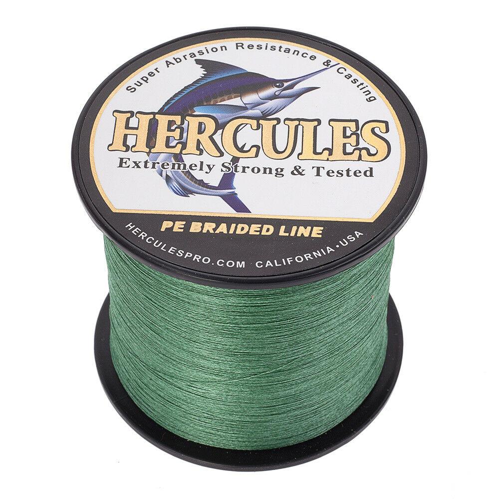 Hercules-1000M-1094-Yards-Weave-6lb-100lb-Test-4-Strands-PE-Braided-Fishing-Line thumbnail 51