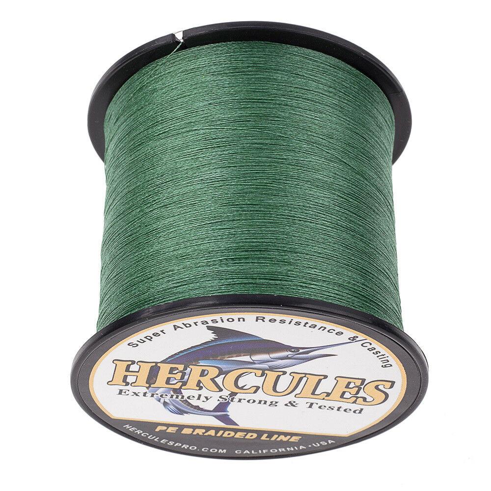 Hercules-1000M-1094-Yards-Weave-6lb-100lb-Test-4-Strands-PE-Braided-Fishing-Line thumbnail 52