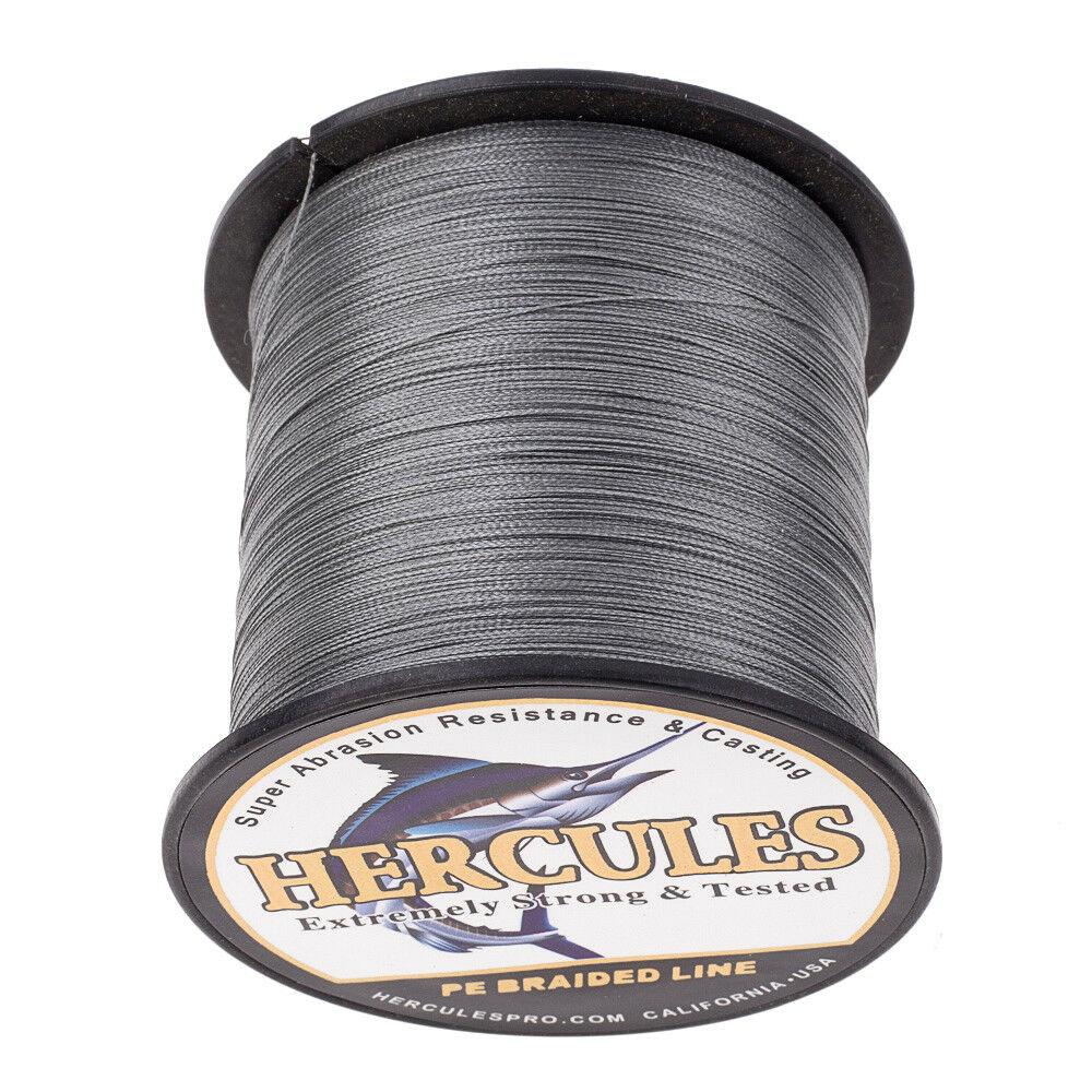 Hercules-1000M-1094-Yards-Weave-6lb-100lb-Test-4-Strands-PE-Braided-Fishing-Line thumbnail 46