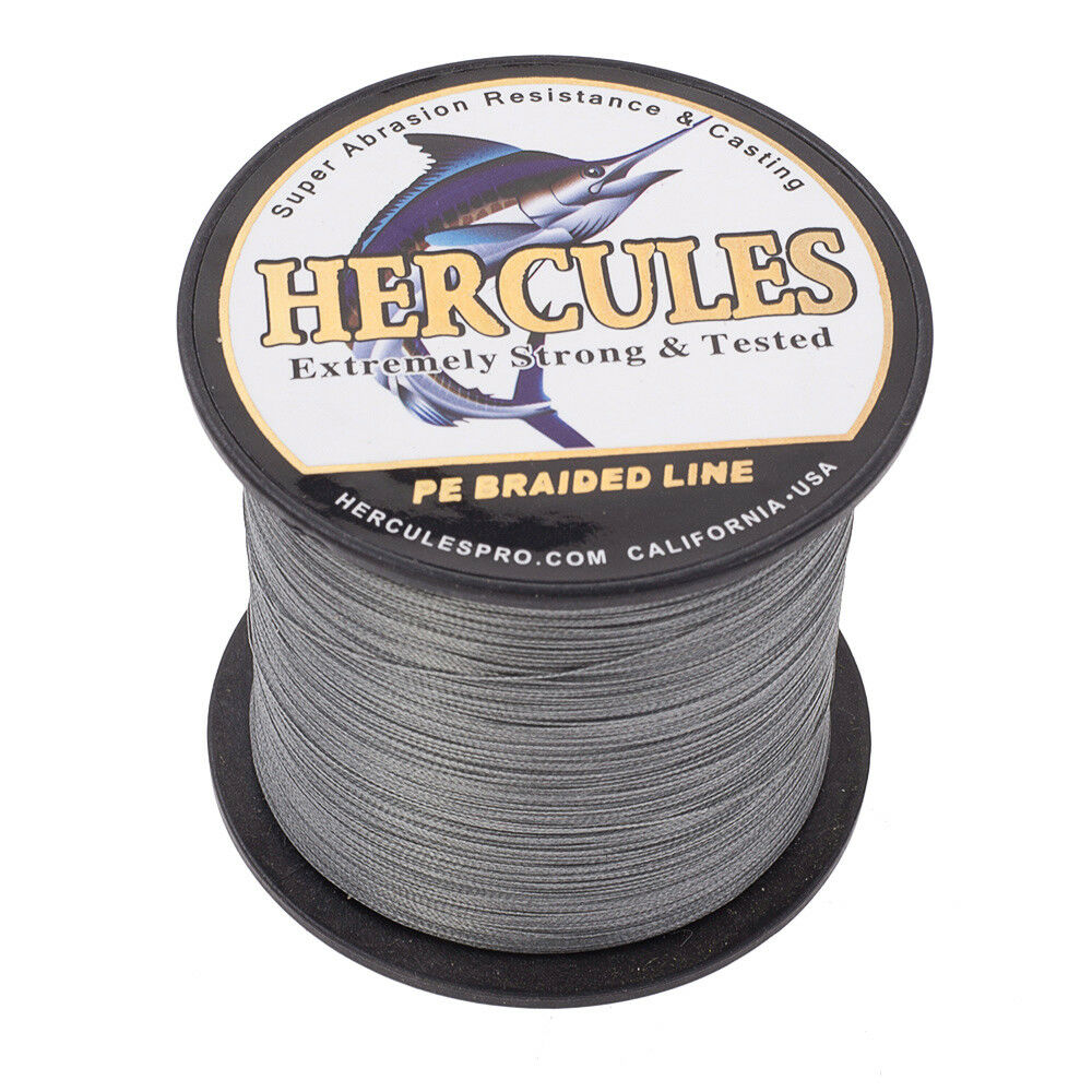 Hercules-1000M-1094-Yards-Weave-6lb-100lb-Test-4-Strands-PE-Braided-Fishing-Line thumbnail 45